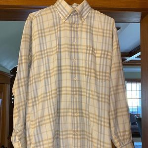 A Burberry London button-down dress shirt